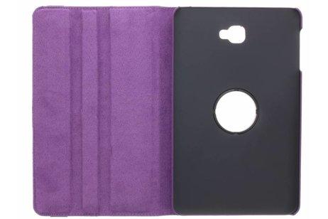 Samsung Galaxy Tab A 10.1 (2016) hoesje - Paarse 360º draaibare tablethoes