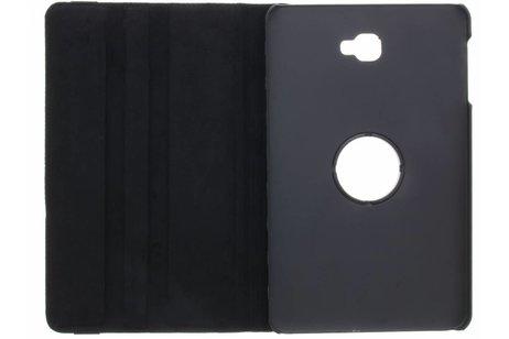 Samsung Galaxy Tab A 10.1 (2016) hoesje - Zwarte 360° draaibare polka