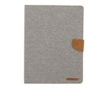 Mercury Goospery Canvas Diary Case iPad 2 / 3 / 4 - Grijs