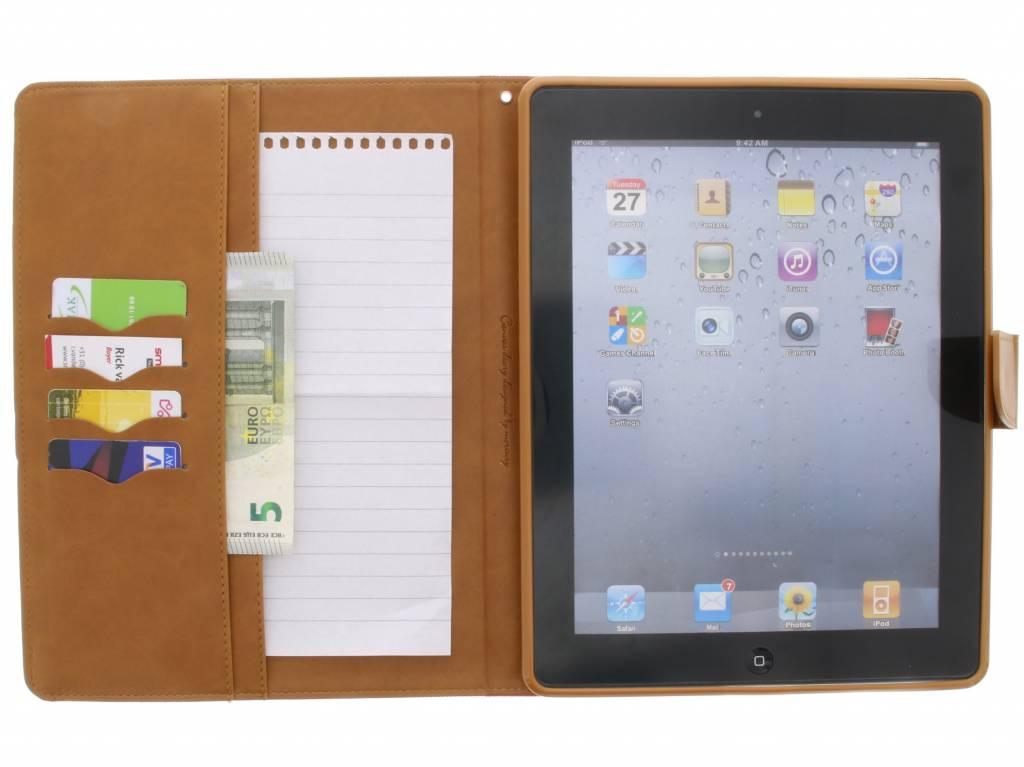 Toile Journal Ipad Cas 2/3/4 - Vert 8IpfM9