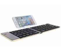 Foldable Bluetooth Keyboard met standaard - Goud