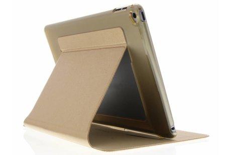iPad Air 2 hoesje - Gouden crystal Slim tablethoes