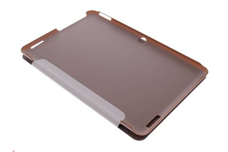 Acer Iconia Tab 10 A3 A20 hoesje - Bruine Book Cover voor