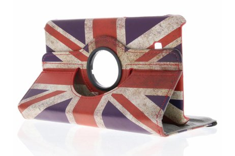 Samsung Galaxy Tab A 7.0 (2016) hoesje - 360° draaibare Britse vlag