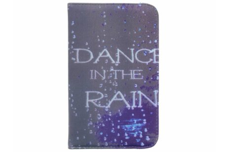 Samsung Galaxy Tab A 7.0 (2016) hoesje - 360° draaibare dance design