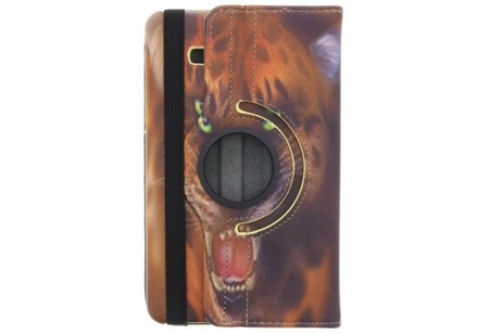 Samsung Galaxy Tab A 7.0 (2016) hoesje - 360° draaibare tijger design