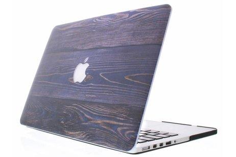 MacBook Air 13.3 inch hoesje - Hout design hardshell voor