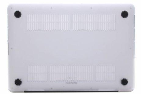 MacBook Air 13.3 inch hoesje - Kleurstrepen design hardshell voor