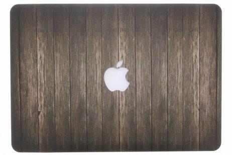 MacBook Pro 13.3 inch hoesje - Hout design hardshell voor