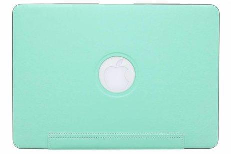 MacBook Pro Retina 13.3 inch (2013-2015) hoesje - Mintgroene brushed hardshell voor