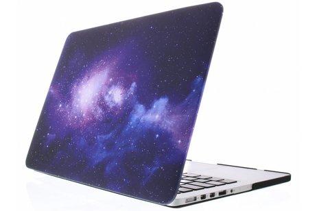 MacBook Pro Retina 13.3 inch (2013-2015) hoesje - Sterren design hardshell voor