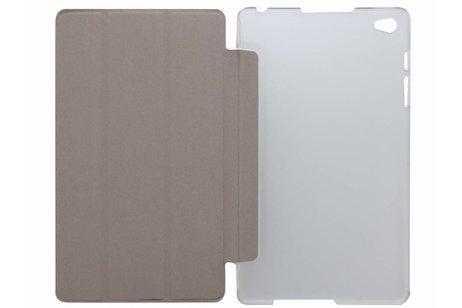 Huawei MediaPad M2 8.0 hoesje - Zwarte brushed tablethoes voor