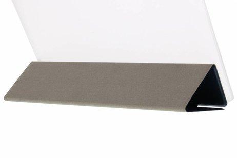 Huawei MediaPad M2 8.0 hoesje - Donkerblauwe brushed tablethoes voor