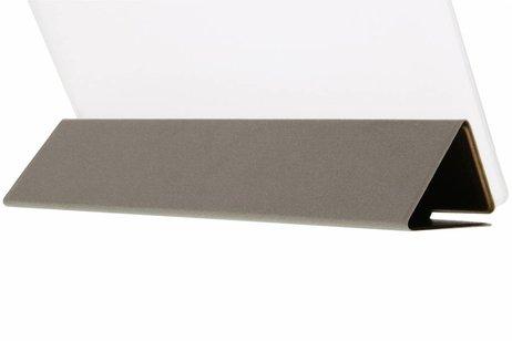 Huawei MediaPad M2 8.0 hoesje - Bruine brushed tablethoes voor