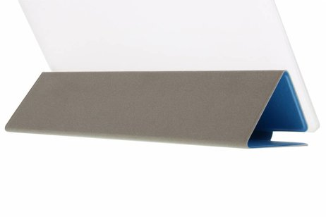 Huawei MediaPad M2 8.0 hoesje - Blauwe brushed tablethoes voor