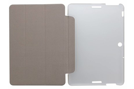 hoesje - Bruine brushed tablethoes voor
