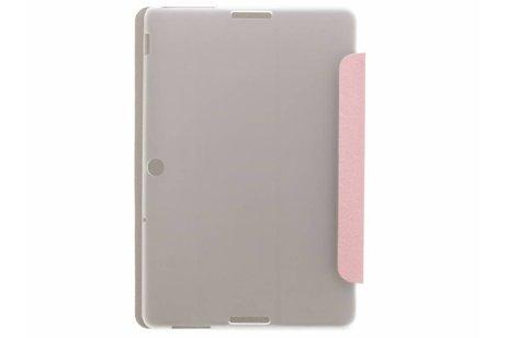 Asus MeMO Pad 10 ME103K hoesje - Roze brushed tablethoes voor