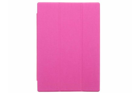 Asus MeMO Pad 10 ME103K hoesje - Fuchsia brushed tablethoes voor