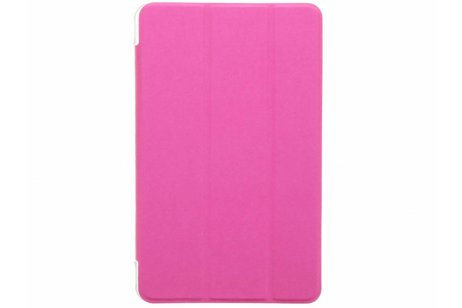 Acer Iconia One 8 B1 810 hoesje - Fuchsia brushed tablethoes voor