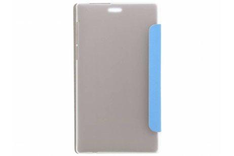 Lenovo Tab 2 A7-10 hoesje - Blauwe brushed tablethoes Lenovo