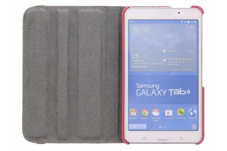 Samsung Galaxy Tab 4 7.0 hoesje - 360° draaibare bloemen design