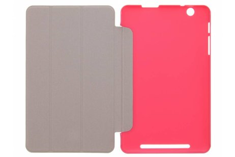 Acer Iconia One 8 B1 810 hoesje - Fuchsia Book Cover voor