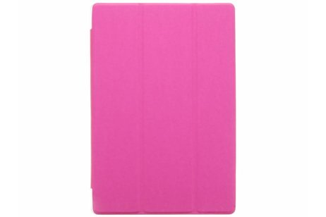 Asus ZenPad 10 Z300M hoesje - Fuchsia brushed tablethoes voor