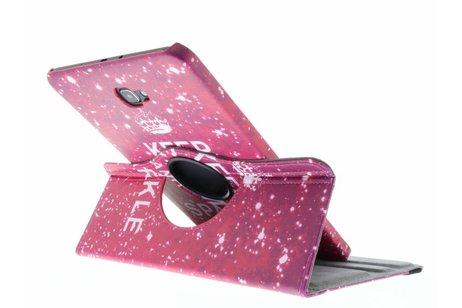 Samsung Galaxy Tab A 10.1 (2016) hoesje - 360º draaibare keep calm