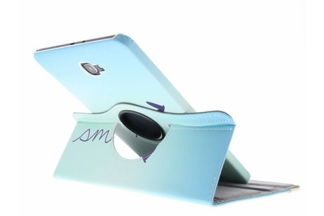 Samsung Galaxy Tab A 10.1 (2016) hoesje - 360º draaibare smile design