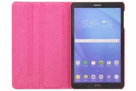 Samsung Galaxy Tab A 10.1 (2016) hoesje - Fuchsia 360º draaibare krokodil