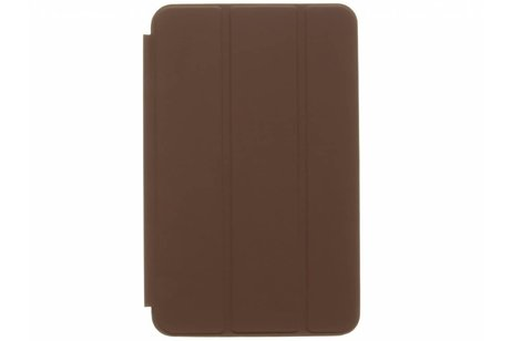 Samsung Galaxy Tab A 10.1 (2016) hoesje - Donkerbruine Basic Book Cover