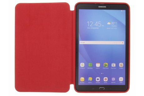 Samsung Galaxy Tab A 10.1 (2016) hoesje - Rode Basic Book Cover