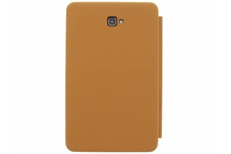 Samsung Galaxy Tab A 10.1 (2016) hoesje - Bruine Luxe Book Cover