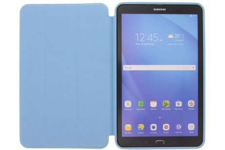 Samsung Galaxy Tab A 10.1 (2016) hoesje - Turquoise Basic Book Cover