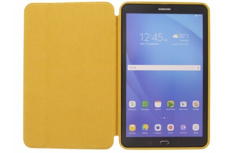 Samsung Galaxy Tab A 10.1 (2016) hoesje - Gouden Basic Book Cover