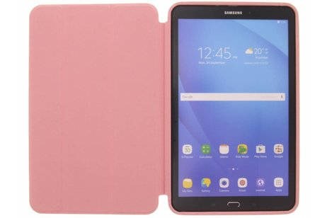 Samsung Galaxy Tab A 10.1 (2016) hoesje - Roze Basic Book Cover