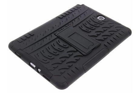 Samsung Galaxy Tab A 9.7 hoesje - Zwarte rugged hybrid case
