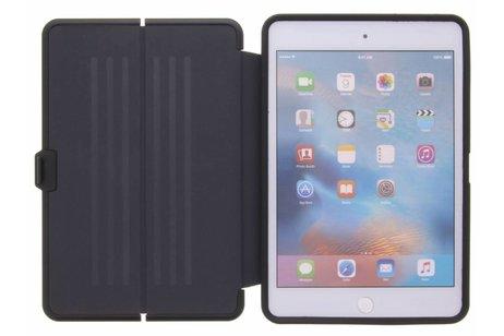 iPad Mini 4 hoesje - Blauwe Extreme Canvas Bookcase