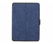 Blauw Canvas Bookcase iPad Air 2