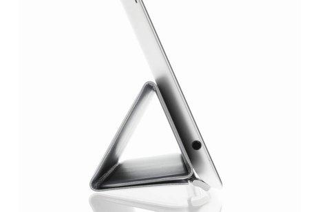 iPad Pro 12.9 hoesje - Grijze Smart Cover voor