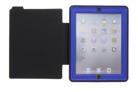 Blauwe defender protect case voor de iPad 2 / 3 / 4