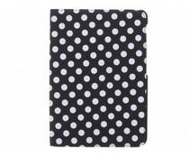 360° draaibare polka dot tablethoes Galaxy Tab S2 9.7