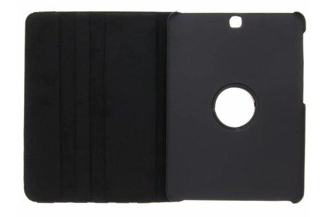 Samsung Galaxy Tab S2 9.7 hoesje - Zwarte 360° draaibare polka
