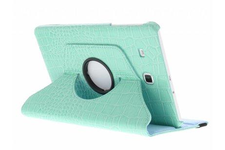Samsung Galaxy Tab E 9.6 hoesje - 360° draaibare krokodil tablethoes