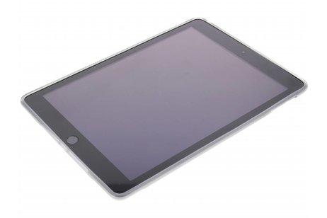iPad (2017) hoesje - Grijze X-line TPU tablethoes