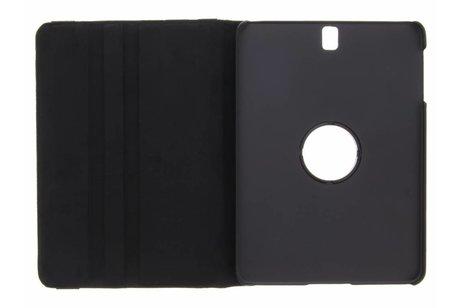 Samsung Galaxy Tab S3 9.7 hoesje - Zwarte 360° draaibare polka