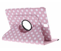 360° draaibare polka dot tablethoes Galaxy Tab S3 9.7