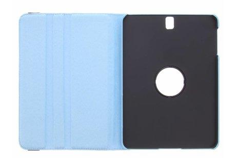 Samsung Galaxy Tab S3 9.7 hoesje - Blauwe 360° draaibare polka