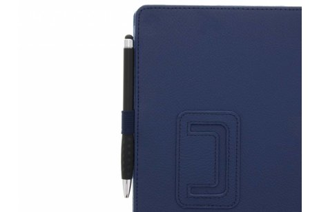 Samsung Galaxy Tab S3 9.7 hoesje - Blauwe effen tablethoes voor