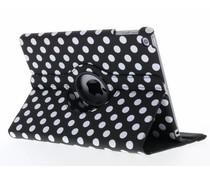 360° draaibare polka dot tablethoes iPad (2018) / (2017)